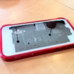 iPhone4ホワイトスケルトン?(笑)